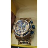 Relógio Invicta Bolt Zeus 12900 Azul Original Ref576