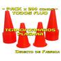 Pack X 200 Conos Entrenamiento Deportivo - Directo Fabrica