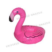 Porta Copo Flamingo Bóia Inflável Enfeite - Pronta Entrega!!