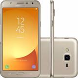 Smartphone Samsung Galaxy J7 Neo Dourado Dual 16gb Tela 5