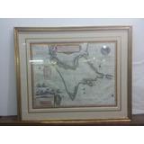 Mapa Patagonia, Tierra Del Fuego Blaeu Mapa Antiguo 1640