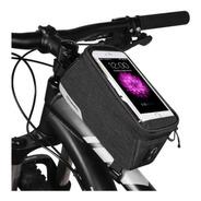 Bolso Bicicleta Porta Objetos Y Celular Roswheel Ros021