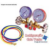 Manifold Refrigeraçao Ar Condicionado R12/r22/r134a/404