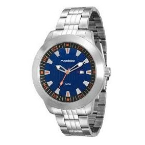 47addcbe73e Lupa Prata Masculino - Relógio Mondaine Masculino no Mercado Livre ...