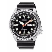 Relógio Citizen Aqualand Automático Nh8380-15e Japan Movemen