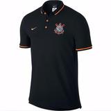 Camisetas Times Camiseta Corinthians Masculina Camiseta Polo