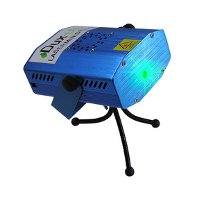 Mini Proyector Laser Bi-color Audio Rítmico.,