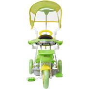 Carrinho Passeio Triciclo Infantil Com Empurrador E Pedal