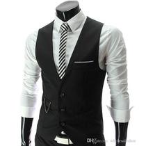 Colete Slim Fit Masculino Importado Para Veste De Terno