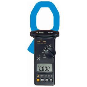 Alicate Voltímetro Amperímetro Digital Cat. Lll 600v Et-3960