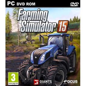 Farming Simulator 15 Pc Completo Português + Brinde Jogo Pc