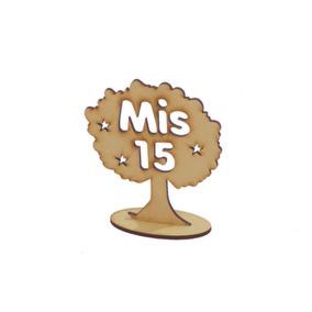 10 Arboles De La Vida Mis 15 Souvenir Centro De Mesa 12cm