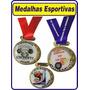 Medalha Esportiva Resinada Personalizada Pra Varios Esportes
