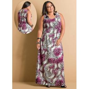 Vestido Longo Para Gordinha Plus Size Tamanho Grande Barato!