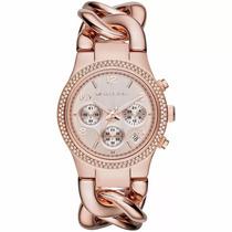 Relógio Feminino Michael Kors Rose Mk3247 - Promoção
