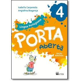Porta Aberta: Língua Portuguesa - 4º Ano