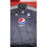 Camiseta De Millonarios De Colombia Gris