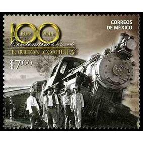 Timbre De Locomotora Antigua ( México)