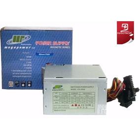 Fuente De Poder Mega Power 500w Atx 20 - 24 Pines Nueva