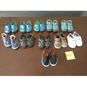Lote De 11 Pares De Zapatos Para Niño Talla 11