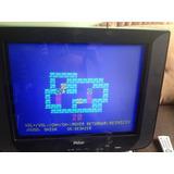 Tv Philco 21 Tela Plana Slim Com Dvd Lg,com Jogo Box Boy!