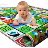 Tapetes Infantil Lavável Bebê Emborrachado 1.80m X 1.15 Cm