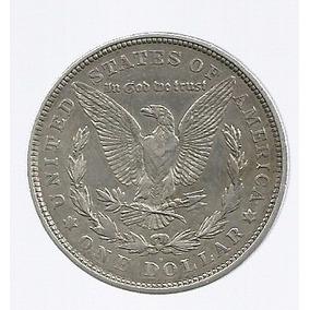 Usa 1 Dolar Morgan 1921 D Plata