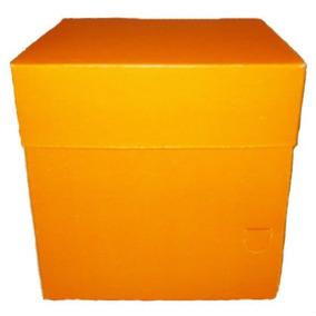 Caixa Para Mini Bolo Lembranças 8x8x8 Com 40