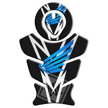 Protetor De Tanque E Boca Honda Bros/xre/tornado Azul 2