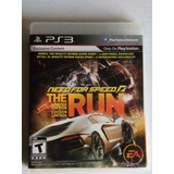 Need For Speed The Run Ps3 Playstation 3 Nfs Trqs