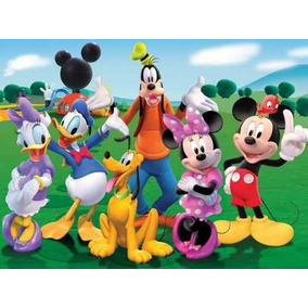 Painel Decorativo Festa Turma Do Mickey [3x1,7m] (mod3)