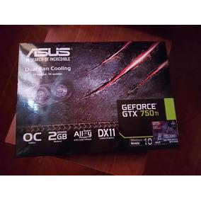 Tarjeta De Video Asus Gtx 750 Ti 2gb En Caja (envio Gratis)
