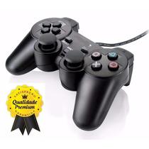 Lote 8 Controles Joystick Manete Playstation 2 Vibratório