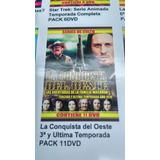 La Conquista Del Oeste Tercera Y Ultima Temporada Dvd Pack