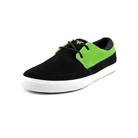 Zapatilla Fallen Roach Dickson Black Green - Zero Absoluto