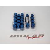 Tuercas Rays Wheel Color Azul P1.25 - Biocartuning