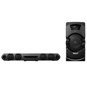 Mini System Sony Mhc-gt3d Com Bluetooth Nfc E Led Multicolor