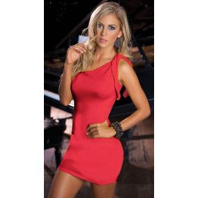 Liquidación Vestido Rojo Sexy Envío Gratis Club Económico