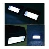 2 Lamparas Solares De Pared O Escalera Para Exterior