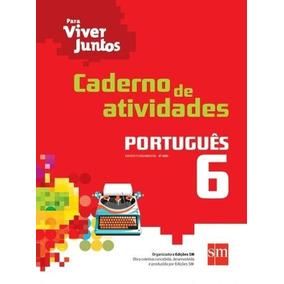 Para Viver Juntos - Portugues - Caderno De Atividades - 6º A