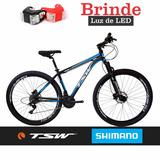Bicicleta Tsw 29 Freio Hidráulico 24 V Shiman Promocao+brind