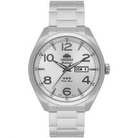 Relógio Automático Orient 469ss062 Mostrador Prata