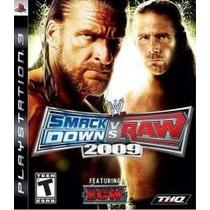 Smackdown Vs Raw 2009 Ps3 Nuevo Citygame