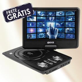 Dvd Encosto Cabeça Tela 7 Pol Portatíl Jogo C/ Tv Digital