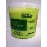 Máscara De Hidratação De Quiabo 2,5 Kg + Shampoo Brinde