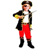 Fantasia Infantil Menino Rei Pirata Importado Arrase Festa