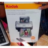40 Fotos Papel Y Cartucho Para Impresora Kodak Easyshare