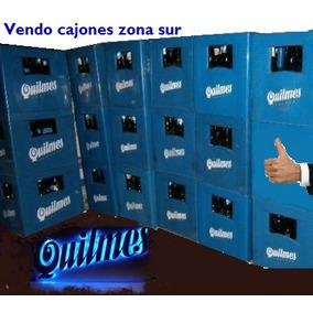 Cajon De Cerveza Quilmes O Brahma Con Botellas Linea Nuevas