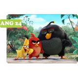 Painel Em Lona Para Festa Infantil 2,00 X 1,50 Angry Birds