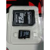 Nueva Memoria Micro Sd Hc Kingston 32gb Clase 10